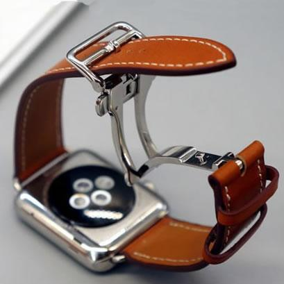 Watch Bracelet Seires Genuine Leather Strap For herm Apple Watch Band Series 1 2 3 iwatch 38 42mm Watchbands