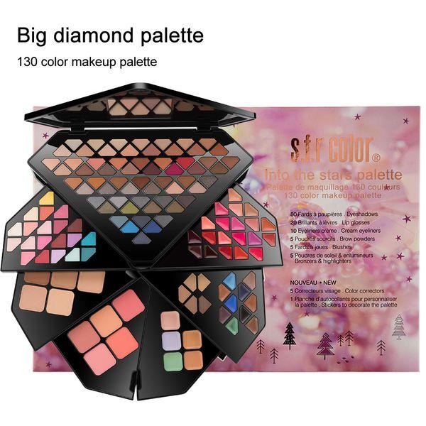 Eyes Makeup 130 Colors Luminous Eye Shadow Glitters Palette Shimmer Make up Shinning Matte Eyeshadow Kit Glitter Shadows Powder