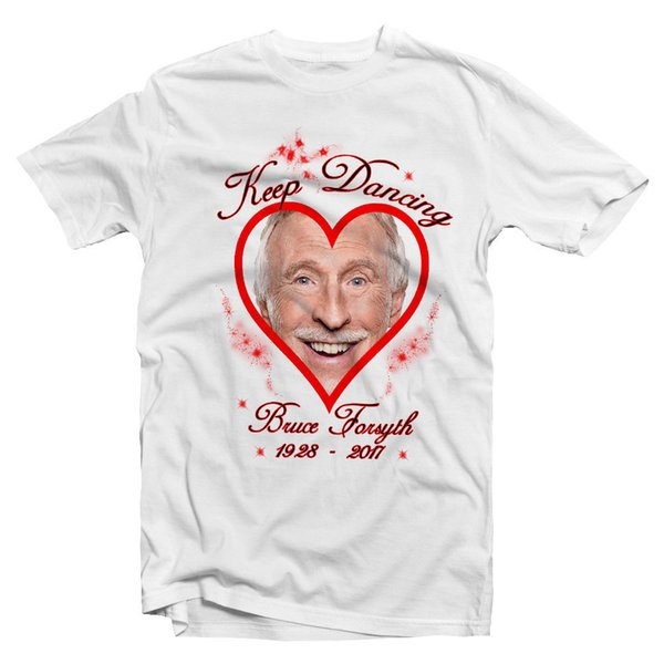 Forsythe Forsith Bruce Forsyth Ladies Tshirt Strictly Come Dancing