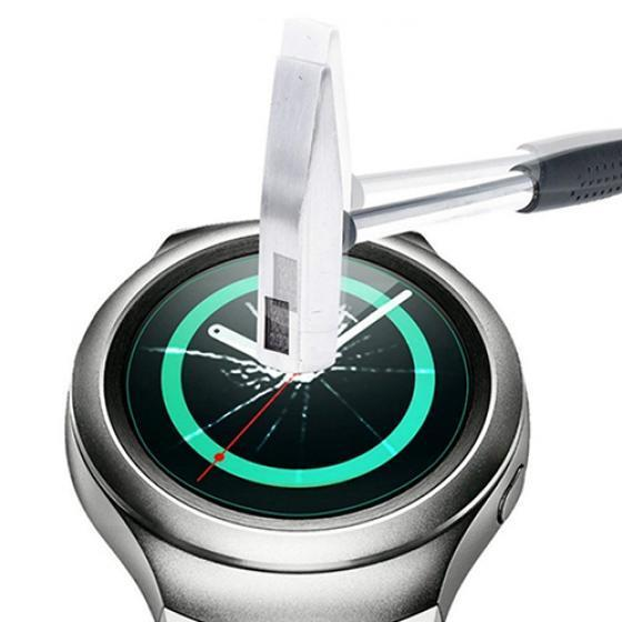 Rounded Tempered Glass Screen Protector for Samsung Gear S2 Smart Wrist Watch