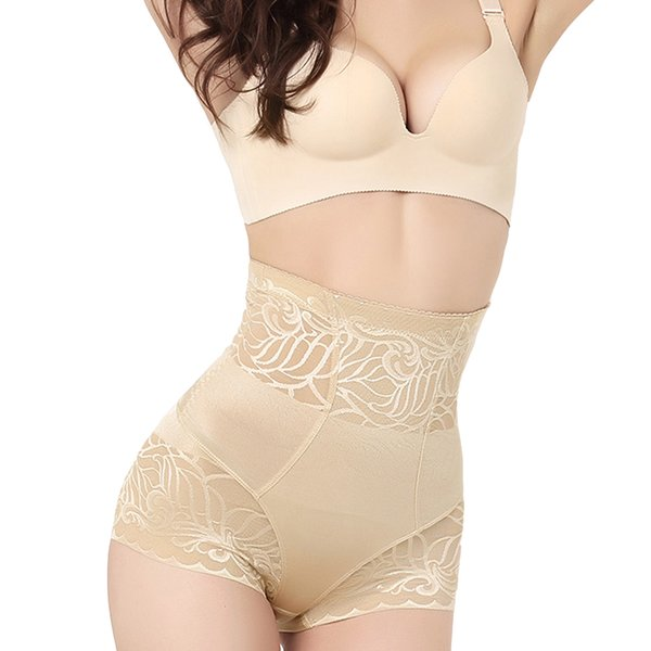 Hot Shaper Women Seamless Tummy Belly Control Waist Slimming Shapewear Panty Mesh High Waist Corset Bodysuit Underwear