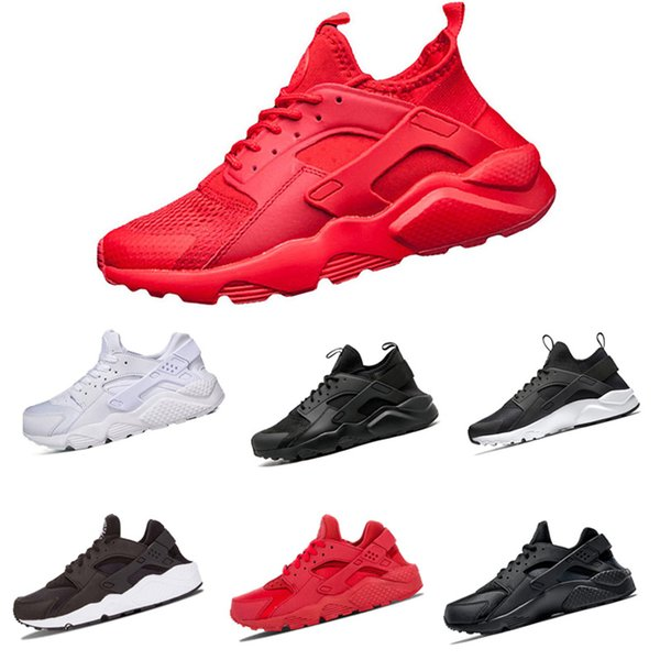 Free shippinghuaraches triple black White Gold huarache men And women shoes For online hot sale size 36-45