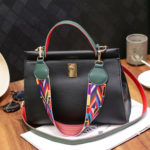 Leather Ladies HandBags Cheap Women Messenger Bags Designer Crossbody Shoulder Bag Luxury Hand Bags Hot Sale 2018 Fashion
