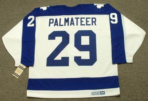 MIKE PALMATEER Toronto Maple Leafs 1978 CCM Vintage Ev Hokey Forması Tüm Dikişli En kaliteli Herhangi İsim Herhangi Bir Numara
