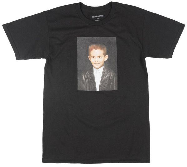 Fcking Awesome Dylan Rieder Tribute T-Shirt Skateboarder Uomo Nero