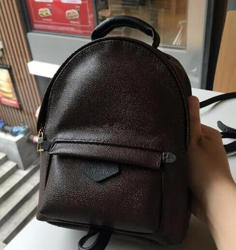 best selling Hight quality Women's Palm Springs Mini Backpack genuine leather children backpacks women printing leather Mini Designer backpack 41560