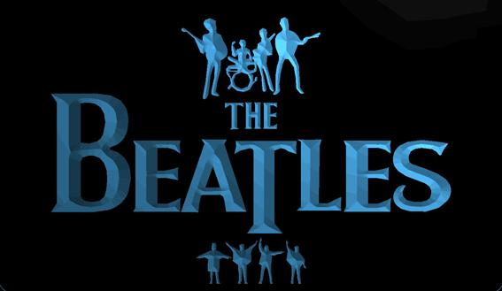 LS1357-b-The-Beatles-Band-Music-Drums-Neon-Light-Signs Decor Free Shipping Dropshipping Wholesale 8 colors to choose