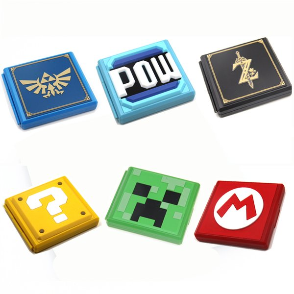 6 Color Game Card Storage Case Game card Protective Cover Cases For Nintend Switch Gaming Accessories