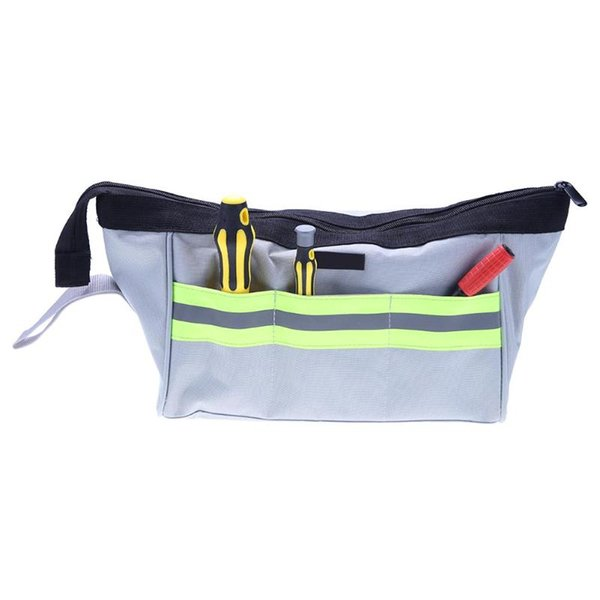 1pc Multifuntion Storage Tools Borsa Utility Bag Pacchetto Oxford Canvas Waterproof Tool Kit Elettricista Tool Pouch
