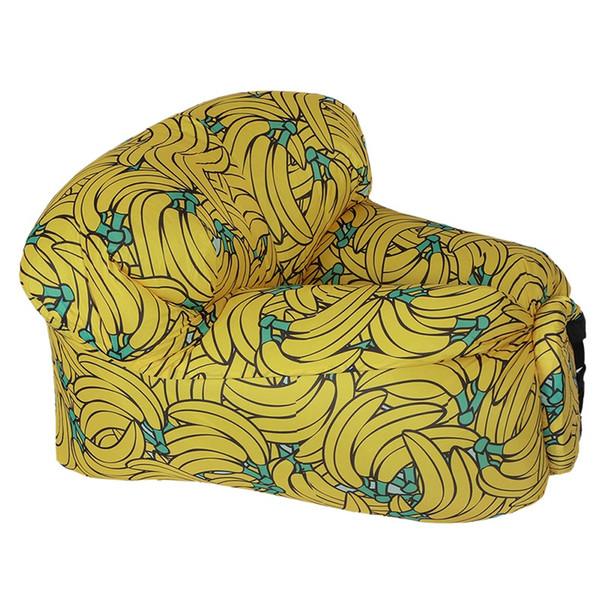 Sofa gonflable extérieur portable de plage de sofa gonflable de sofa paresseux rapide sac de couchage d'air Camping Air