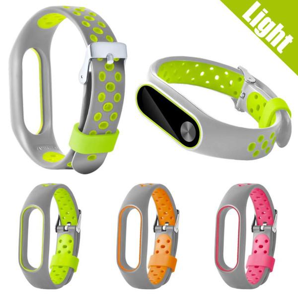 GEMIXI New WaterProof Lightweight Ventilate TPE Wrist Strap Wristband Bracelet For Xiaomi Mi Band 2 gear sport mar27