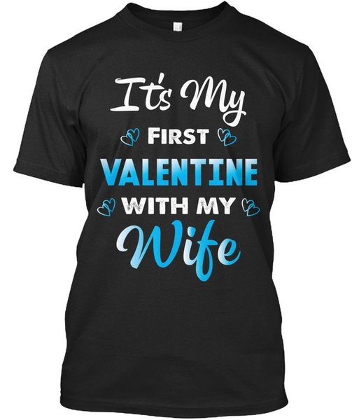 Fun Valentines Day Gift for Husband Standard Unisex T-Shirt (S-3XL) Tee Shirt for Men Casual Short Sleeve Cotton Custom Plus Size Family Ca