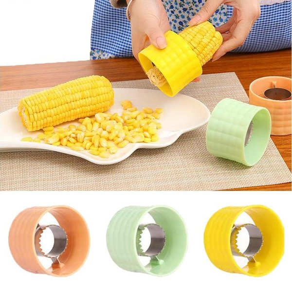 New Professional Stainless Steel Fast Corn Stripper Salad Food Maker Corn  Shaver Peeler Kitchen Gadgets Cooking Helpful Tools Neat Kitchen Gadgets ...