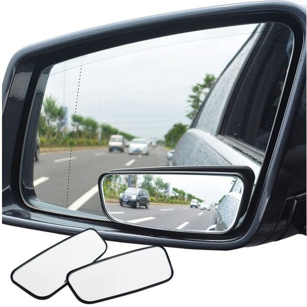1 Pair Blind Spot Mirror Wide Angle Mirror 360 Degree Adjustable Convex Rear View Mirrors Car mirror for All Universal Vehicles