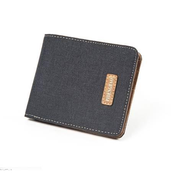 New Arrive Wallet Purses Men's Canvas Wallet Carteira Masculine Billeteras Porte Monnaie Monederos Famous Brand Men Wallet
