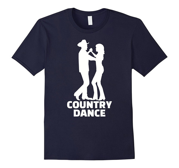 Create Your Own Shirt Graphic Men Crew Neck Short Sleeve Country Dance Couple Tees