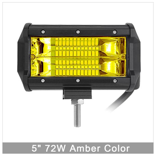 72W Amber