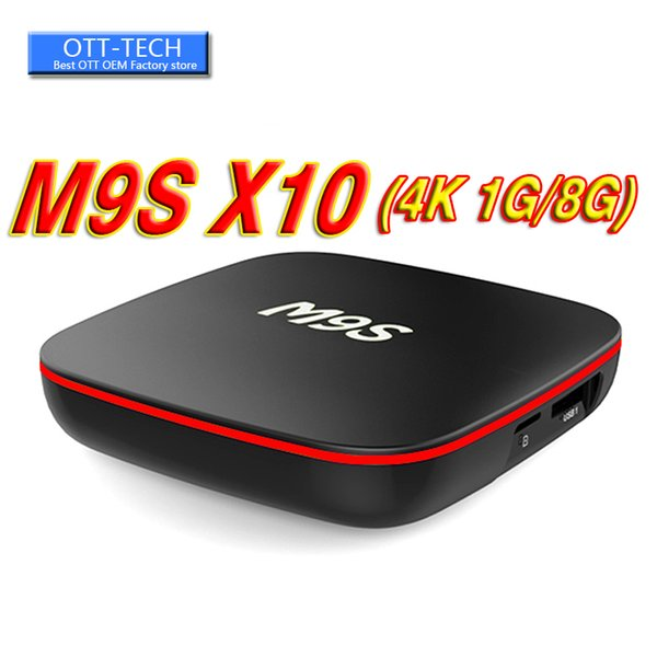 2018 New M9S X10 MXQ Pro 4K TV Box 17.5 Rockchip RK3229 Android 7.1 Streaming Media Player support 3D Free set top box