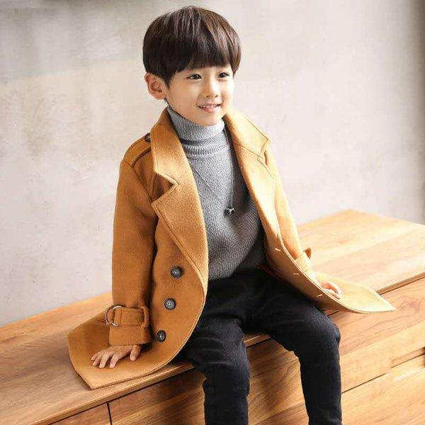 Jacke 4 Dicken Mantel 5 6 12 Baby 7 8 Winter 10 Für 9 Jungen Kinder Oberbekleidung Großhandel 13 Kleidung Woolen Jahre 3jAR54Lq
