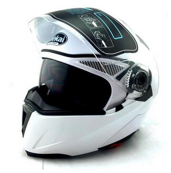 DER NEU ANGEKOMMENE DOT ECE JIEKAI 105 Helm Motorrad Flip / Helm Helm Motorrad Motocross Racing FCD