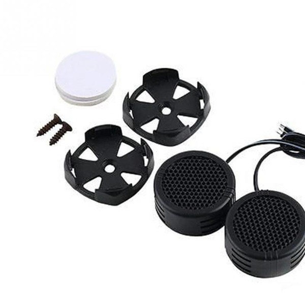 top popular 2PCS 500 Watts Super Power Loud Dome Tweeter Speakers for Car 500W 2021