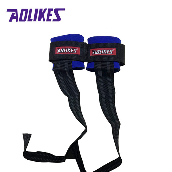 AOLIKES 1Pair Anti-slip Sports Wristband Hands Wrist Support Brace Strap for Gym Weightlifting Fitness Thicken Sports Protector