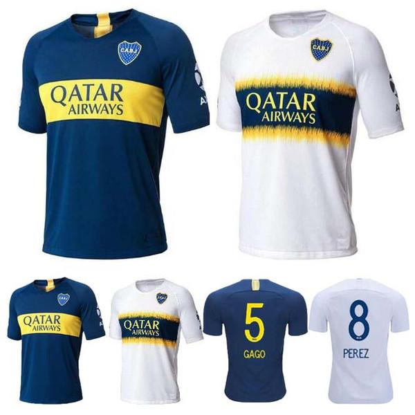 new concept 7ee46 63360 2019 2018 2019 Boca Club Juniors Jersey Home Away 18 19 Boca Juniors GAGO  OSVALDO CARLITOS PEREZ P Football Shirt From Jersey__home, $18.07 | ...
