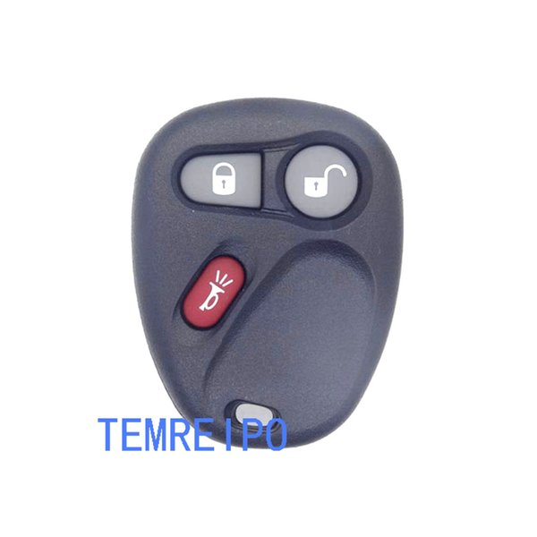 key covers for buick chevrolet 3 button car remote key shell replacement car key case fob