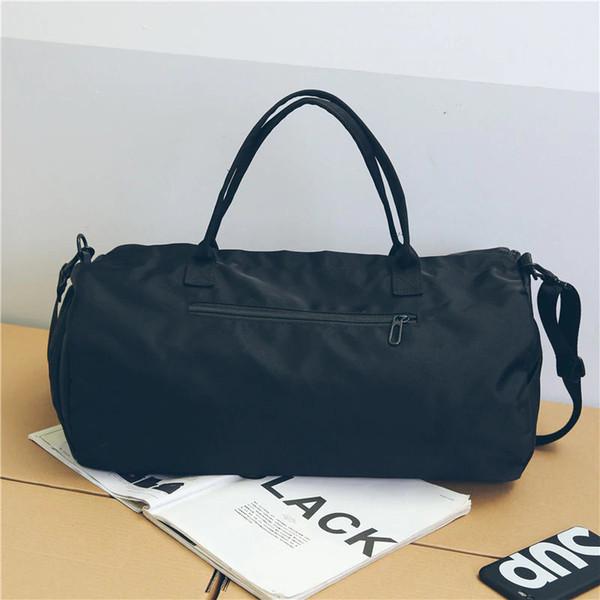 53cddf50be35 Холст женские дорожные сумки йога тренажерный зал сумка для фитнес обувь  сумки плеча Crossbody сумка женщины мужчины мешок де спорт пакет XA488WA