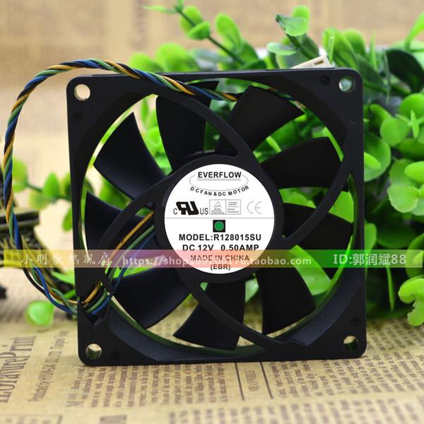 Pour le nouveau ventilateur de châssis EVERFLOW 8015 12V 0.50Amp 8CM R128015SU