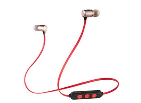 Nouvelle oreillette Bluetooth sport magnétique, mini écouteurs sans fil fonctionnant anti-chute, explosion transfrontalière stéréo binaurale