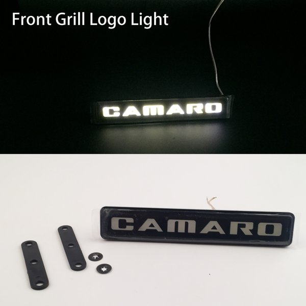 Chevrolet Camaro Corvette Car Auto Emblem Front Hood Grill Grille Bonnet Logo Light