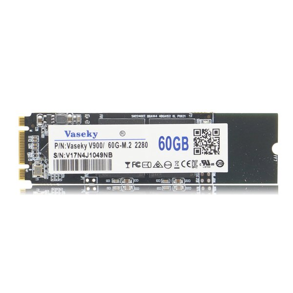 60GB Vaseky M.2 2280 SATA SSD Internal Solid State Drive For Desktop Notebook PC