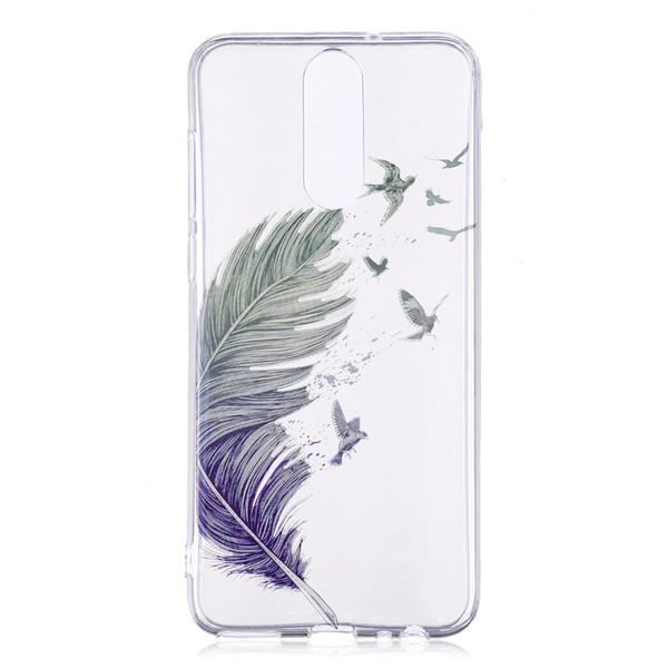 Soft Cover For LG G7 K8 K10 2018 Case Skin TPU IMD Plastic Silicone Gel Rubber For LG G7 Flower Skull Phone Cover