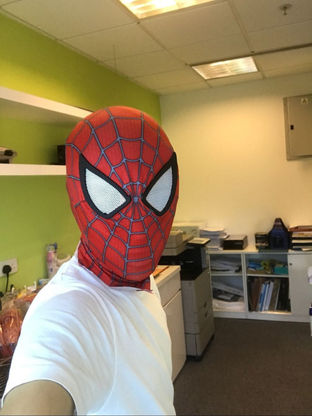 New The Amazing Spider-Man Movie Spiderman Costume Mask Hero Superhero Adult