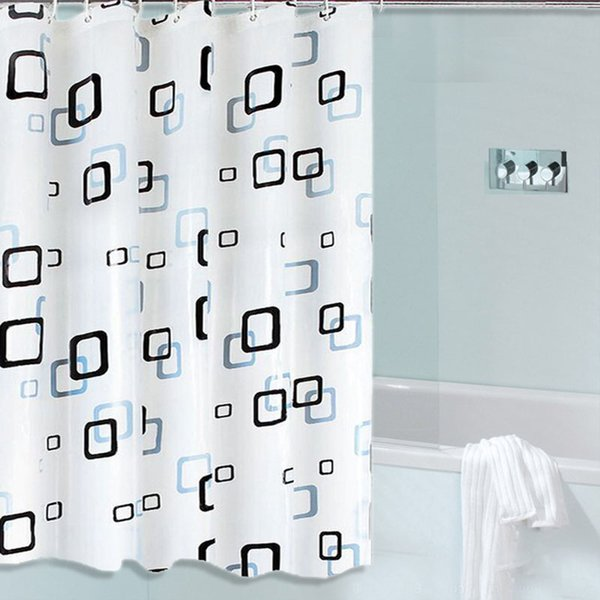 Summer New Waterproof Protection Shower Curtain Starfish Pattern Modern Simple EVA Fabric Environmental Non Toxic