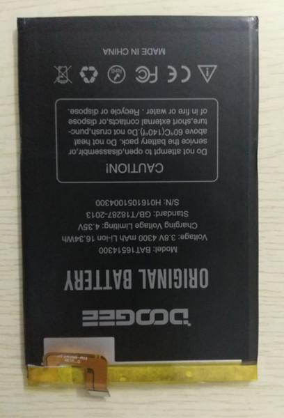 In magazzino Per Doogee Y6 Max Batteria 4300mAh 100% Originale di ricambio accumulatori accessori Per Doogee Y6 Max + Strumenti + Adesivo