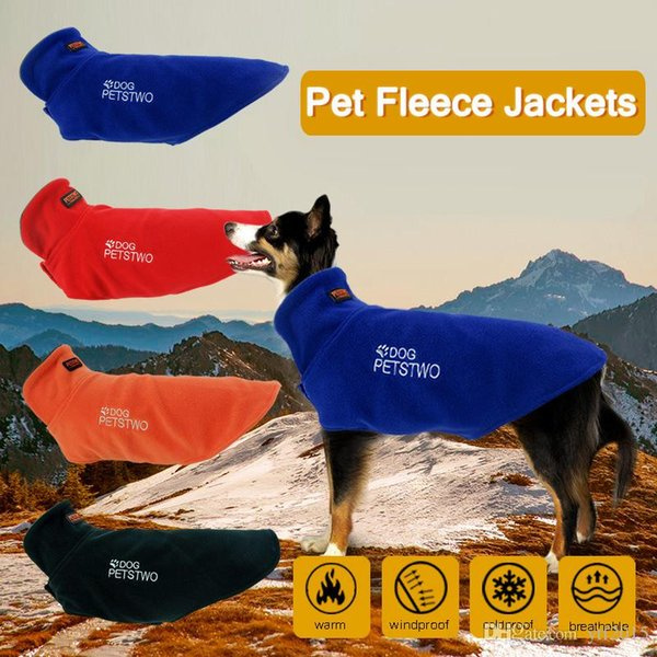 New Warm Fleece Pet Coat Winter Dog Clothes High Quality Cute Puppy Hoodie Jumpsuit Clothing for Small Dogs Teddy