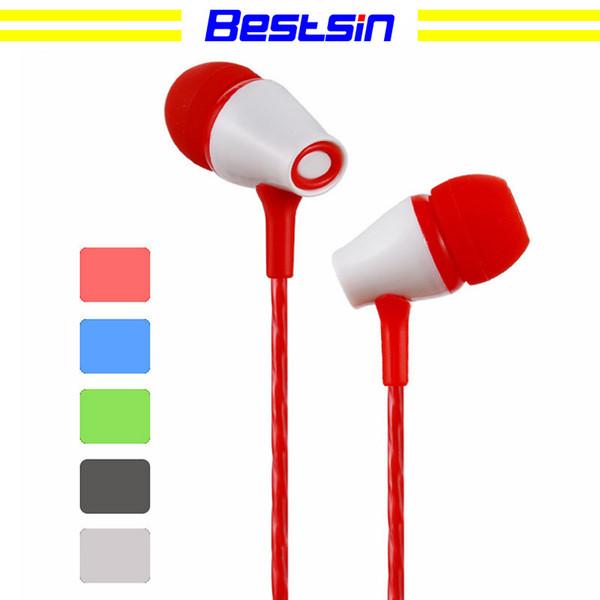 Bestsin JIAYU Earphone Wire-controlled Headset Bass Stereo Sports Running Universal Earplugs for MP3/4, iPod, ipad, iphone, computer
