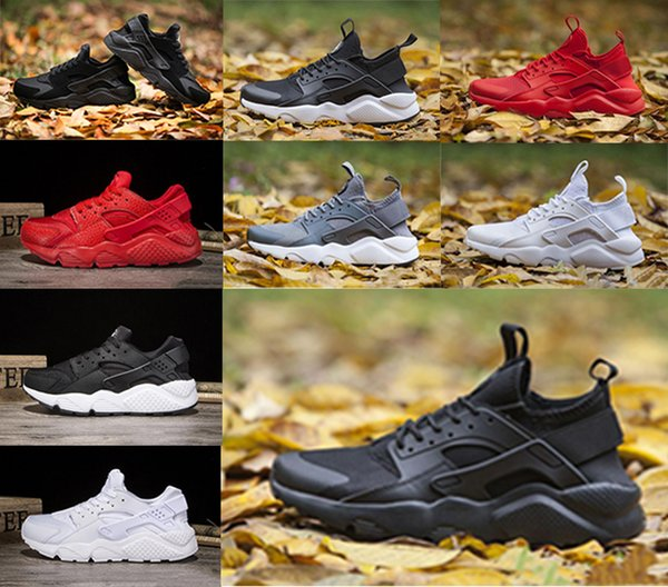 Acheter Nike Air Huarache Usine De Sortie Nom Marque De Mode Huarache 1.0 4.0 Chaussures De Course Huaraches Formateurs Pour Hommes Femmes Chaussures