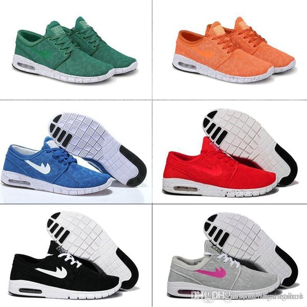 New Arrival Mens Running Shoes With Tag New fashion SB Stefan Janoski Maxes Mens and womens Fashion Sneakers shoes EU36-45 Free Shipping
