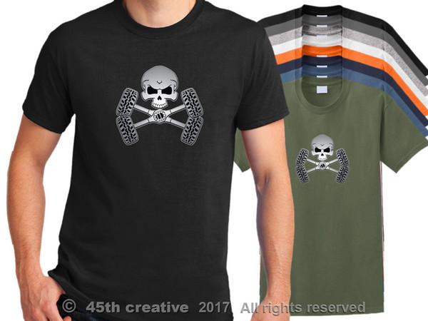 Off Road T shirt-offroad 4x4 череп рубашка грязь внедорожник внедорожник 4WD грузовик рубашка смешно бесплатная доставка унисекс повседневная tee top