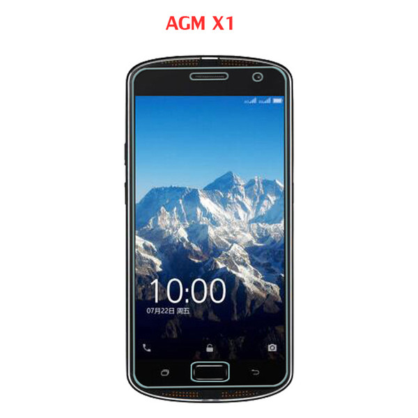 1PC 2Pc Original Smartphone Tempered Glass For AGM X1 Screen,Scratch Proof Screen Protector Film For AGM X1 4G mobile phone film