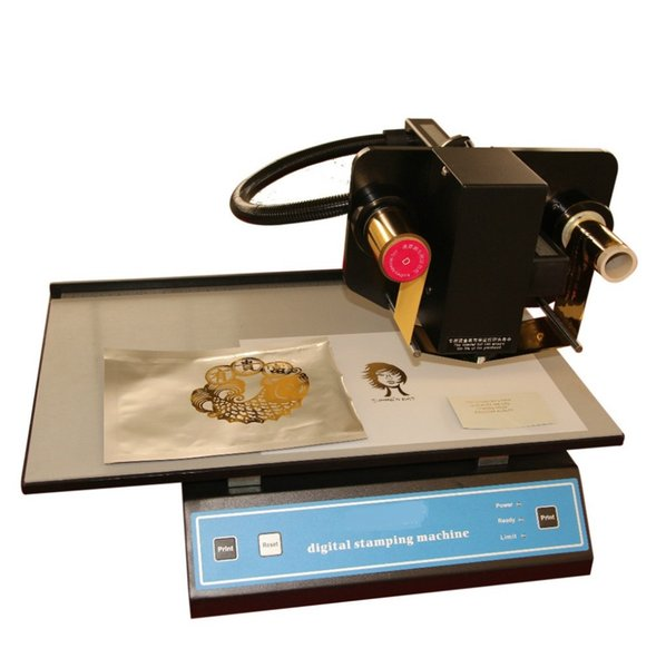 foil hot stamping Digital Stamping Machine cut Aluminum