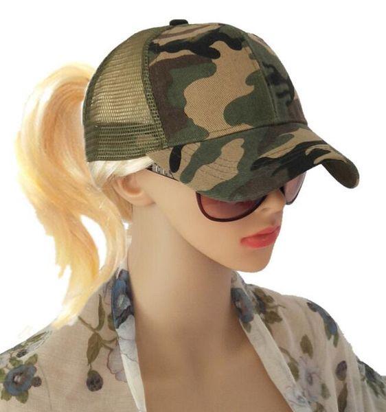 DHL Camo Mesh Baseball Cap Men women adjustable Camouflage Bone Masculino Summer Hat Men Army Cap Trucker Snapback Hip Hop Dad Hat