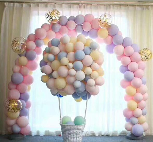 Macaron Color Latex Balloons 10inch Romantic Wedding Decoration Balloons  Baby Birthday Party Valentine\u0027S Day Decor Balloon Large Party Decorations