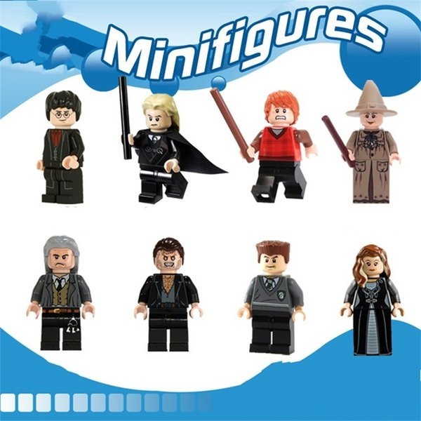 Blocks Harry Potter Doll Pirate Series Toy Ron Fred Brick Man Mini Building Block Cleaning And Disinfection Children Gift 2 5ecy H1