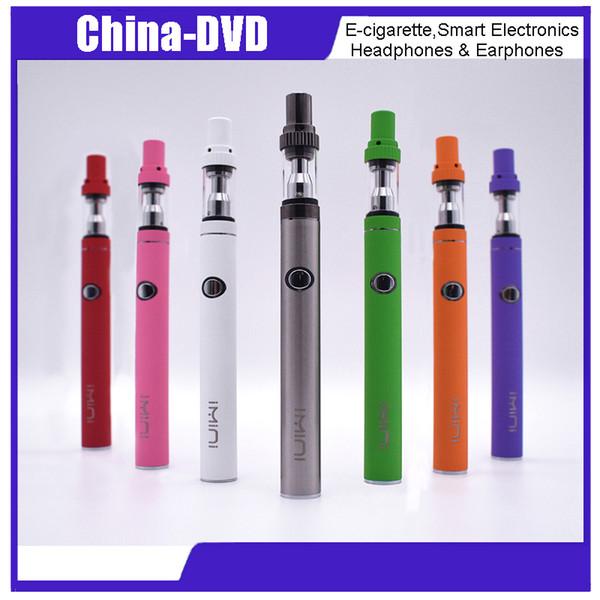 Original imini E-smart Vaporizer Pen kit 380 mah batería Cigarrillos electrónicos con atomizador I1 Atomizador de cristal Kits de cigarrillos