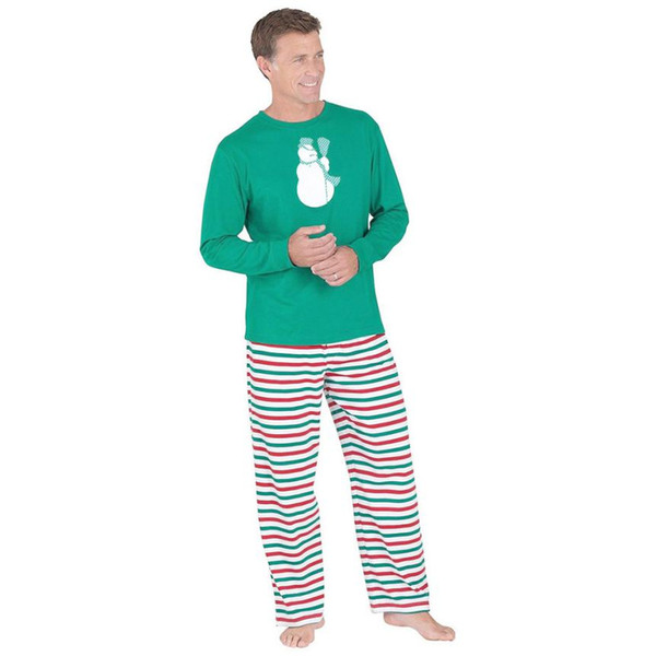 Mens Christmas Pajamas.2019 Eile 5003 Adult Men Christmas Xmas Pajamas Set Sleepwear Nightwear From Z08a 37 24 Dhgate Com