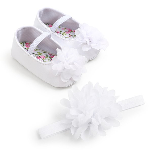 INS Hot Sale Big Mesh Flowers Breathable Elastic Band Rainbow Colors Offer Soft Infant Baby Shoes+Lace Lovely Handband